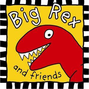 Children's Big Rex and Friends Cloth Books RECALL!