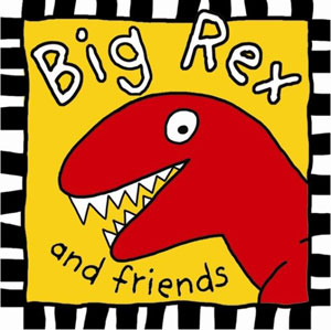 Children's Big Rex and Friends Cloth Books RECALL!
