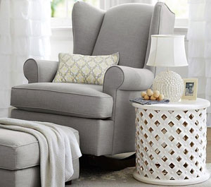 grey-rocking-chair