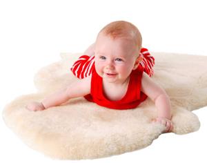lamb-skin-baby-rug