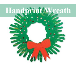 handprint-wreath-christmas-toddler-craft